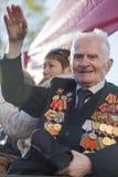 Soixante-dix ans depuis la victoire en Russie Photographie stock