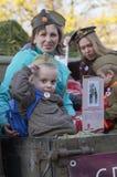 Soixante-dix ans depuis la victoire en Russie Images stock