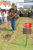 soixante-dix-huitième Célébrations malaisiennes 2011 d'anniversaire d'armée Photographie stock