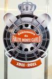 soixante-dix-neuvième Rassemblement de Monte Carlo, édition de centenary Image libre de droits
