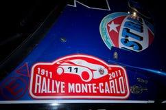 soixante-dix-neuvième Rassemblement de Monte Carlo, édition de centenary Photos stock