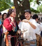 Soixante-quinzième célébrations de l'anniversaire de Dalai Lama Photos libres de droits