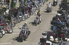 soixante-septième Rassemblement annuel de moto de Sturgis, image libre de droits