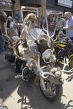 soixante-septième Rassemblement annuel de moto de Sturgis Images libres de droits