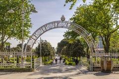 Soixantième parc d'année de Goztepe, Istanbul Images stock