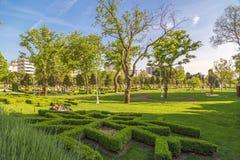 Soixantième parc d'année de Goztepe, Istanbul Photo libre de droits