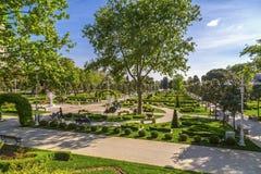 Soixantième parc d'année de Goztepe, Istanbul Image stock