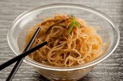 soja spaghetti Fotografia Royalty Free