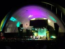 SOJA-Staus auf Stadium während des Konzerts Stockbilder