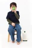 Sojabohnenöl-Milch Lizenzfreies Stockfoto