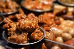 Sojabohnenöl-Mischfleisch Stockfoto