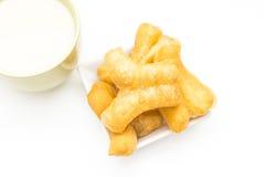 Sojabohnenmilch Stockfoto