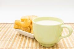 Sojabohnenmilch Stockbild