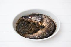 Sojasoßenfrucht der Bestandteilfische würzige Lizenzfreies Stockfoto