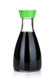 Sojasoßenflasche Lizenzfreies Stockfoto