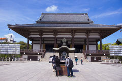 Sojiji寺庙 免版税图库摄影