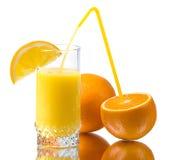 sok świeża pomarańcze obrazy royalty free
