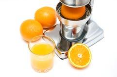 sok świeża pomarańcze Zdjęcia Stock