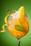 sok świeża szklana pomarańcze Fotografia Royalty Free