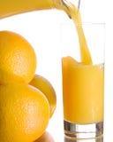 sok świeże pomarańcze zdjęcie stock