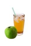 Sok i jabłko zdjęcia stock