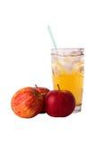 Sok i jabłko obrazy royalty free
