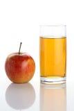 sok jabłkowy Obrazy Royalty Free