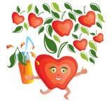 sok jabłkowy royalty ilustracja