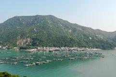 Sok Kwu Wan village Royalty Free Stock Images