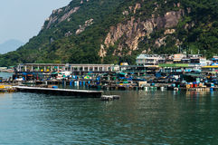 Sok Kwu Wan village Royalty Free Stock Photo