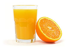 sok pomarańcze Obraz Royalty Free