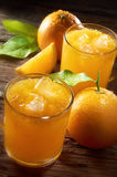 sok pomarańcze zdjęcie stock
