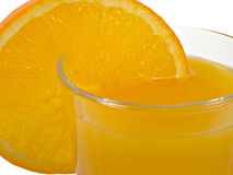 sok pomarańcze obraz stock