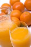 sok pomarańcze Zdjęcia Royalty Free