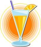 sok pomarańczowy royalty ilustracja