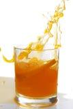 Sok pomarańczowy pluśnięcie Fotografia Royalty Free