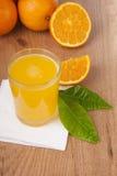sok pomarańcze Zdjęcie Royalty Free