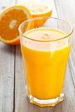 Sok pomarańczowy Obrazy Stock