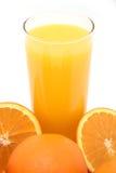 sok pomarańczowy Obrazy Royalty Free