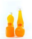 sok pomarańczowy white odizolowane Zdjęcia Royalty Free