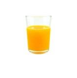 sok pomarańczowy white odizolowane Zdjęcie Royalty Free