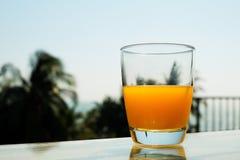 sok pomara?czowy white odizolowane fotografia stock