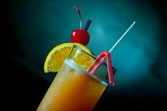sok szklana pomarańcze Zdjęcie Royalty Free
