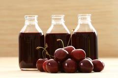 sok wiśniowy obrazy stock