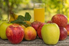 sok z owoców obrazy stock