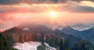 Sokal Ридж осенью стоковое фото