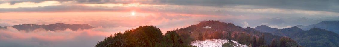 Sokal Ридж осенью стоковая фотография