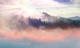 Sokal Ridge en automne photo libre de droits