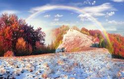 Sokal Ridge en automne images libres de droits