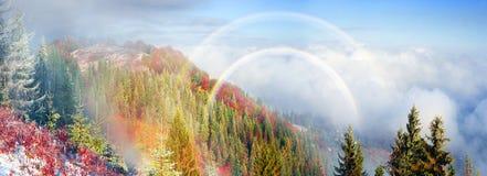 Sokal Ridge en automne photos stock
